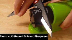 Electric Knife and Scissor Sharpener