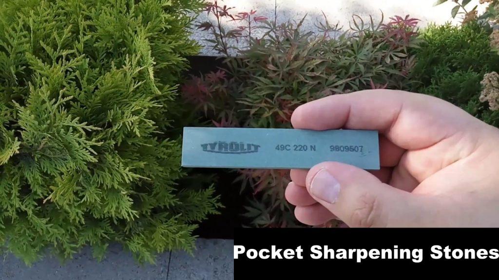 Pocket Sharpening Stones