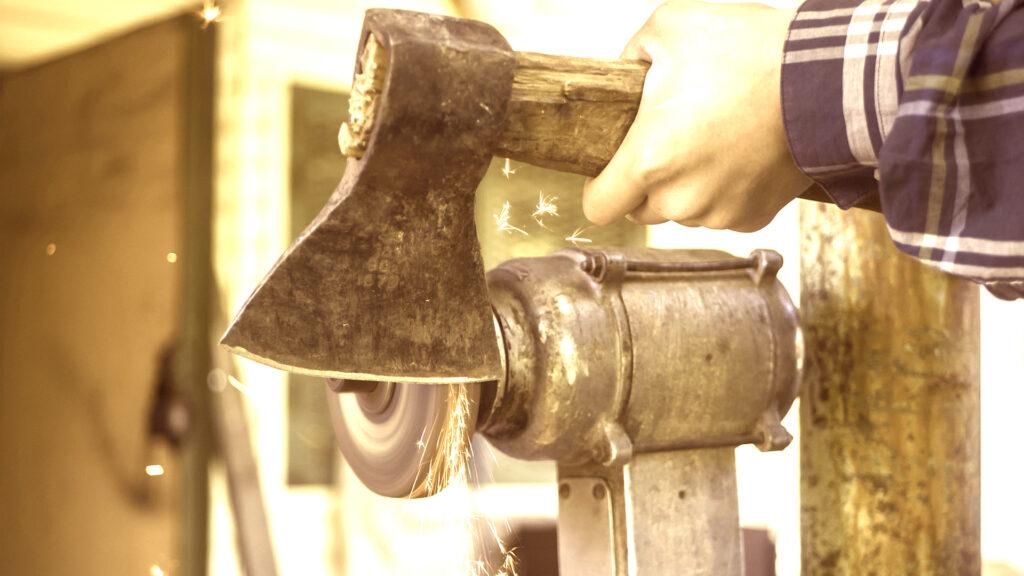 best axe sharpener